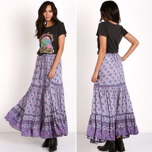 NWT Spell & The Gypsy Kombi Maxi Skirt Small